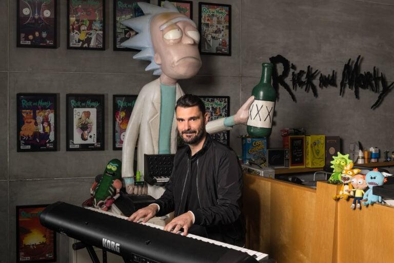 Portrait of Ryan Elder, Composer - Rick & Morty